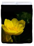 Buttercup And Dew Drops Duvet Cover