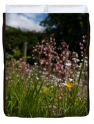 Buttercup And Wildflowers Duvet Cover