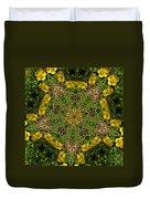 Buttercup Kaleidoscope Duvet Cover