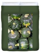 Buttercup Winter Squash On Display Duvet Cover