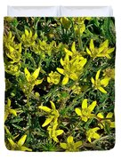 Buttercups In Cappadocia-turkey Duvet Cover