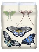 Butterflies I Duvet Cover