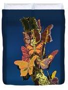 Butterflies On A 2015 Rose Parade Float 15rp047 Duvet Cover