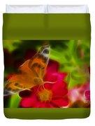 Butterfly-5430-fractal Duvet Cover
