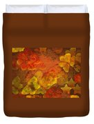 Butterfly Abstract 2 Duvet Cover