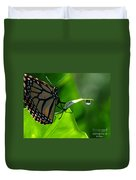 Butterfly And Water Duvet Cover