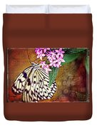 Butterfly Art - Hanging On - By Sharon Cummings Duvet Cover by Sharon Cummings