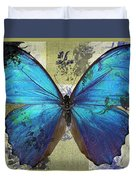 Butterfly Art - S01bfr02 Duvet Cover by Variance Collections