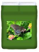 Butterfly Ballot Duvet Cover