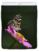 Butterfly Blossom Duvet Cover by Christina Rollo