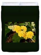 Butterfly Bush Flower Duvet Cover