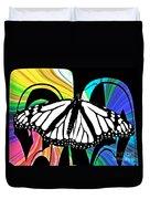 Butterfly Abstract Wall Art Decor Duvet Cover