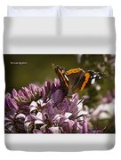 Butterfly Close Up Duvet Cover