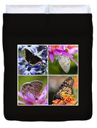 Butterfly Collage  Duvet Cover
