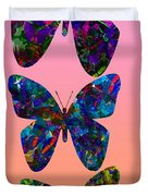 Butterfly Collage IIII Duvet Cover