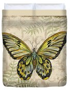 Butterfly Daydreams-a Duvet Cover