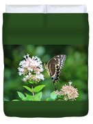 Butterfly Dining  Duvet Cover