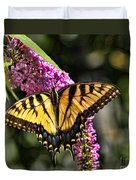 Butterfly - Eastern Tiger Swallowtail Duvet Cover