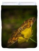 Butterfly Fan Duvet Cover