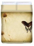 Butterfly Flower Duvet Cover