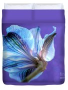 Butterfly Flower Duvet Cover