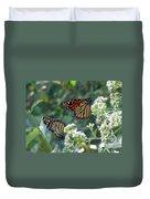 Butterfly Garden - Monarchs 01 Duvet Cover