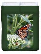 Butterfly Garden - Monarchs 07 Duvet Cover