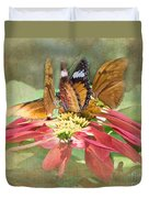 Butterfly Gathering Duvet Cover
