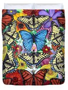 Butterfly Haven Duvet Cover