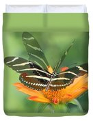 Butterfly In Motion #1967 Duvet Cover