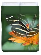Butterfly In Motion #1968 Duvet Cover