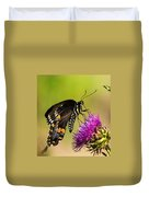 Butterfly In Nature Duvet Cover