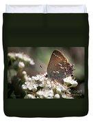 Butterfly In The Garden Duvet Cover