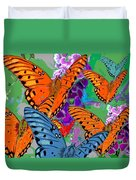 Butterfly Joy Duvet Cover
