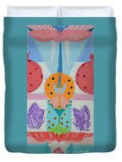 Butterfly Kisses And Ladybug Hugs Duvet Cover