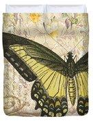Butterfly Kisses-c Duvet Cover