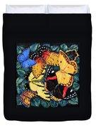 Butterfly Kisses Duvet Cover