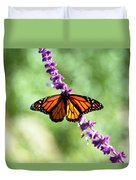 Butterfly - Monarch Duvet Cover