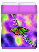 Butterfly - Monarch - Photopower 1551 Duvet Cover