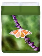 Butterfly - Monarch - Photopower 319 Duvet Cover