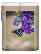 Butterfly Mountain Duvet Cover