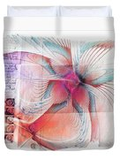 Butterfly Note Duvet Cover