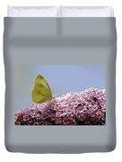 Butterfly On Buddleia Duvet Cover