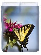 Butterfly Out Of The Blue - Blue Butterfly Art Duvet Cover