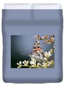 Butterfly - Painted Lady - Tasty Out Here Duvet Cover
