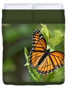 Butterfly Scene Duvet Cover