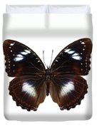 Butterfly Species Hypolimnas Bolina  Duvet Cover