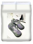 Butterfly Summer Duvet Cover