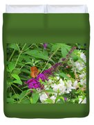 Butterfly Surprise Duvet Cover