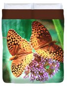 Butterfly Twins Duvet Cover